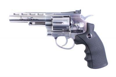 """ASG CO2 Dan Wesson Revolver 4"""" (Silver)"""