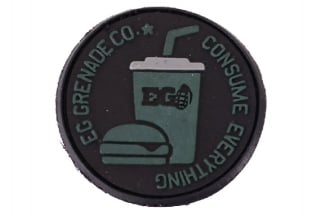 "Enola Gaye Velcro PVC Patch ""Consume Everything"""