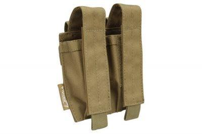Viper MOLLE Double Pistol Mag Pouch (Coyote Tan)