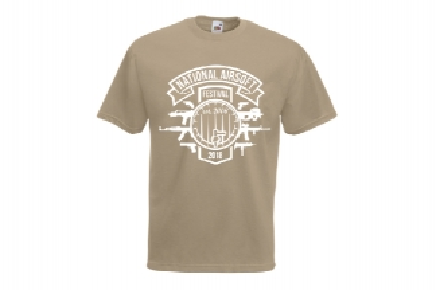 Daft Donkey Special Edition NAF 2018 'Est. 2006' T-Shirt (Tan)