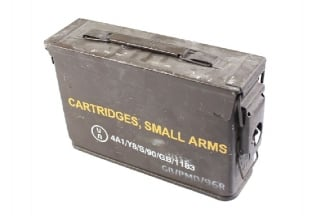 Ammo Box for 7.62mm (Genuine Used)