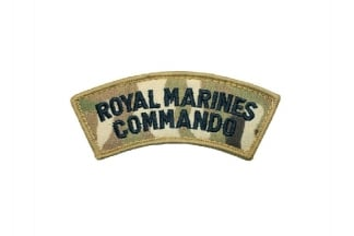 Shoulder Flash Pair - Royal Marines Commando (MTP)