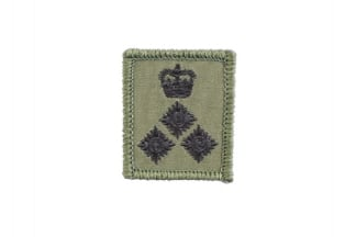 Helmet Rank Patch - Brigadier (Subdued)
