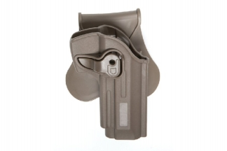 ASG Rigid Polymer Holster for M92 (Dark Earth)