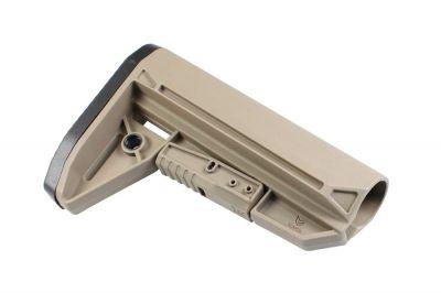 EMG BRAVO Slimline Retractable Stock for M4 (Tan)