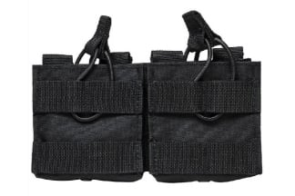 NCS VISM MOLLE Double Mag Pouch for .308 & 7.62 (Black)