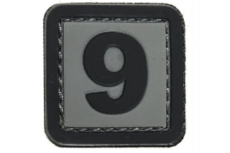 "101 Inc PVC Velcro Patch ""9"""