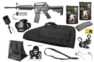 Zero One AEG CM16 Carbine Starter Pack Tier 3 (Bundle)