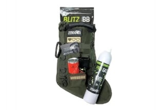 Zero One FILLED Christmas Stocking (Olive)