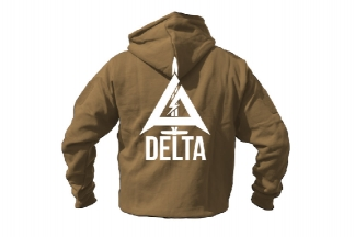 Daft Donkey Special Edition NAF 2018 'Delta' Viper Zipped Hoodie (Coyote Tan)
