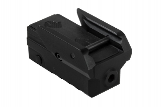 NCS Compact Green Laser for RIS Rails & Pistols with Strobe