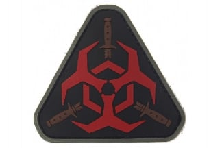 "101 Inc PVC Velcro Patch ""Outbreak Response"""