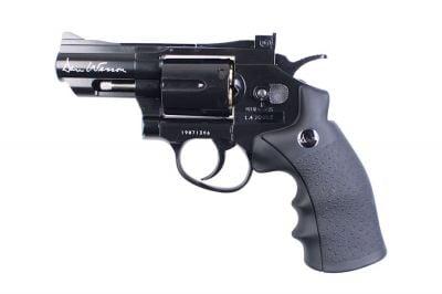 """ASG CO2 Dan Wesson Revolver 2.5"""" (Black)"""