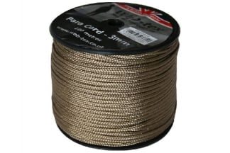 Web-Tex 100m ParaCord Reel (Tan)