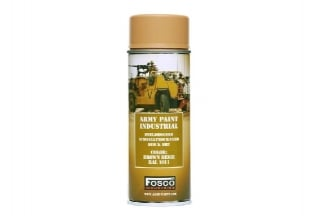 Fosco Army Spray Paint 400ml (Brown Beige)