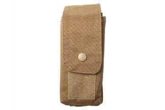 Mil-Force MOLLE M4 Double Mag Pouch (Tan)