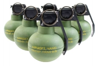TAG Innovation TAG-67 BB Grenade Box of 6 (Bundle)