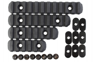 Element 20mm RIS Set for MOE Style Handguard (Black)