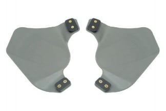 FMA Ear Protectors for Helmet Rail (Foliage Green)