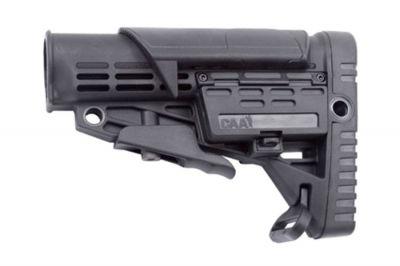 CAA M4 Retractable Stock with Adjustable Cheek Piece (Black)