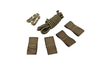 Matrix DIY Retention Kit for Bump/Speed Helmet (Tan) | £14.95