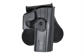 ASG Rigid Polymer Holster for CZ P07 & P-09 (Black)