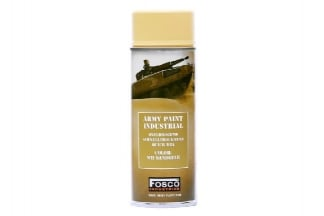 Fosco Army Spray Paint 400ml (Sand)