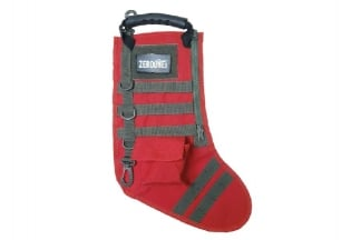 Zero One MOLLE Christmas Stocking (Red & Olive)