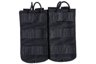 Viper MOLLE Quick Release Double Mag Pouch (Black)