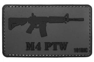 "101 Inc PVC Velcro Patch ""M4 PTW"""