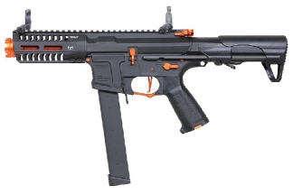G&G Combat Machine AEG ARP 9 Super Ranger Amber with ETU (Black/Orange)