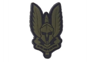 "101 Inc PVC Velcro Patch ""Spartan"" (Olive)"