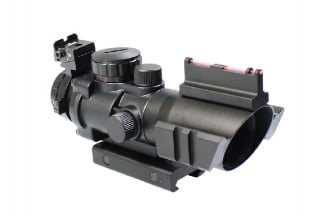 Zero One 4x32 Compact Scope with Fibre Sight