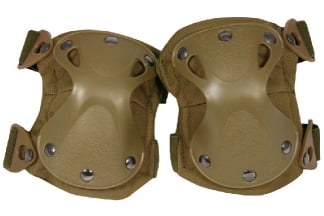 Viper Hard Shell Knee Pads (Coyote Tan)
