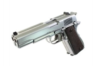 WE GBB 1911 Double Barrel (Silver)