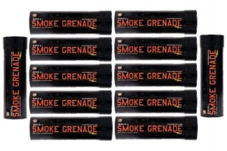 Enola Gaye WP40 Wire Pull Smoke (Orange) Box of 10 (Bundle)