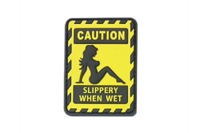 JTG Slippery when Wet PVC Patch