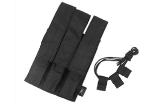 TMC MOLLE Triple Mag Pouch for SMG (Black)