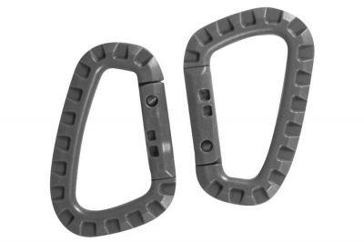 Viper Tactical Carabina Set of 2 Titanium (Grey)