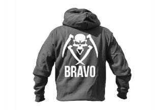 Daft Donkey Special Edition NAF 2018 'Bravo' Viper Zipped Hoodie Titanium (Grey)