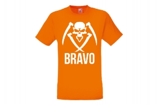 Daft Donkey Special Edition NAF 2018 'Bravo' T-Shirt (Orange)
