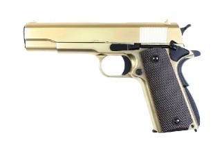 WE GBB 1911 (24k Gold Plated)