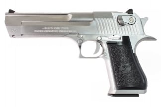 WE/Cybergun GBB Desert Eagle .50AE (Silver)