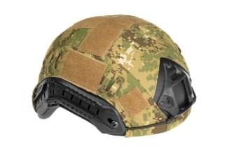 Invader Gear Fast Helmet Cover (Digital Woodland)