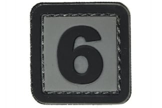 "101 Inc PVC Velcro Patch ""6"""