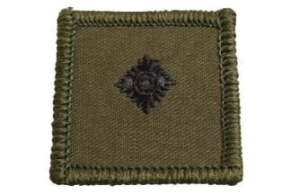 Helmet Rank Patch - 2/Lieutenant (Subdued)