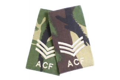 Rank Slide Pair (DPM) - Sgt ACF