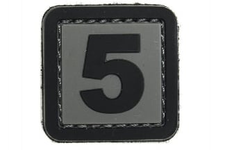 "101 Inc PVC Velcro Patch ""5"""