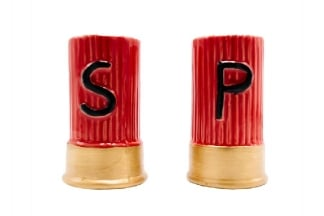 Caliber Gourmet Shotgun Salt & Pepper Shakers