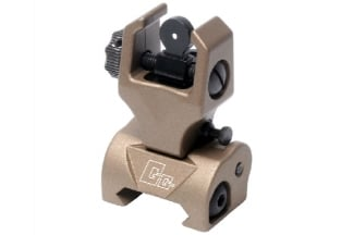 G&G 20mm RIS Flip-Up Rear Sight (Tan)